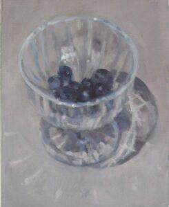 Eri Ishii, 'Blueberries In Glass', 2020