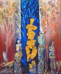 Hubert Jackson, 'Golden Spirits', 2019