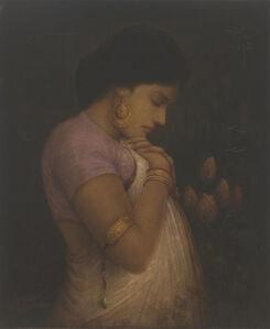 Hemen Majumdar, 'Rose or Thorn', NA