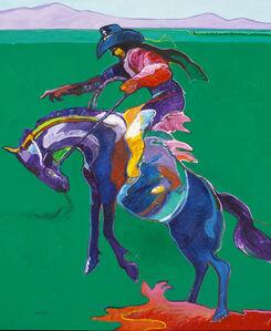 John Nieto, 'Apache Saddle'