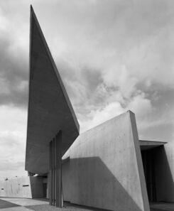 Hélène Binet, 'Vitra Fire Station 01 (Architecture by Zaha Hadid)', 1999
