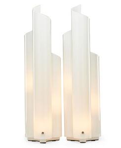 Vico Magistretti, 'Pair of Mezzachimera table lamps', 1970s