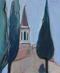 Gregory Kondos, 'Cathedral', 2017