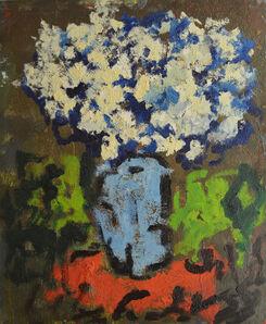 Aron Froimovich Bukh, 'Blue flowers', 1997