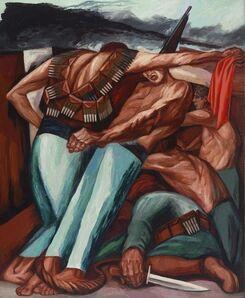 José Clemente Orozco, 'Barricade', 1931