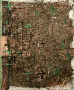 Gerhard Hoehme, 'ein bitteres Bild, ein trauriges Bild', 1963