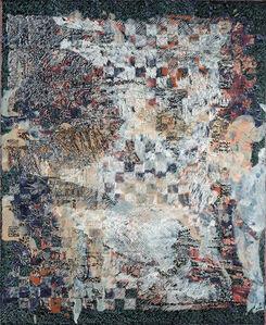 François Rouan, 'Mappe, rose d'huîtres, coquilles et corps marins, 20004-2005', 2004-2005