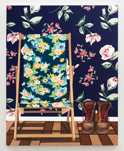 Alec Egan, 'Chair with Boots', 2020