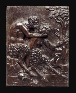Andrea Briosco, called Riccio, 'Satyr Family', ca. 1500