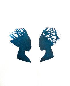Mary Evans, 'Mirror Image Viridian Green', 2013