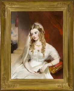Thomas Sully, 'Portrait of Mrs. Joseph Merrefield (nee Rebecca Janney) of Baltimore', about 1849
