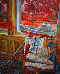 Jenny Toth, 'Boat Out of water', 2012
