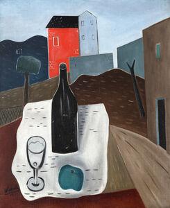 Atanasio Soldati, 'Natura morta con paesaggio', 1931-1932