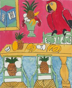 Grace Hartigan, 'St. Croix Interior', 2003