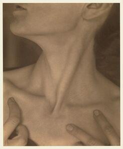 Alfred Stieglitz, 'Georgia O'Keeffe — Neck', 1921