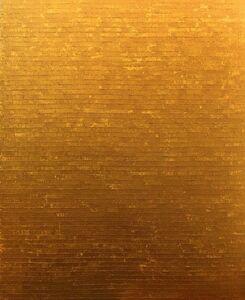 Bernard Dunaux, 'Colorscapes (Gold) '