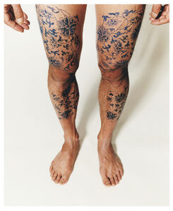 Ni Haifeng, 'Self-Portrait as Part of the Porcelain Export History 4 - legs', 1999-2001