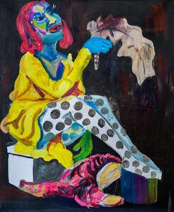 Wycliffe Mundopa, 'Waiting for a Dream Pt 8', 2020