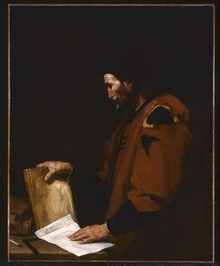 Jusepe de Ribera, 'Aristotle', 1637