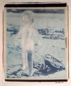 """Dennis Farber, 'Large Format Vintage Color 20X24 Polaroid """"Radiant Child"""" signed and dated', 1980-1989"""