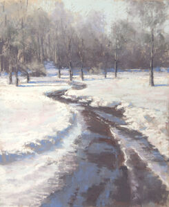 Jane McGraw-Teubner, 'Puddles And Snow', 2018