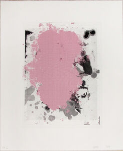 Christopher Wool, 'Portraits (Red) 1', 2014
