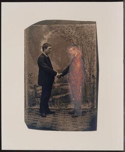 Annette Lemieux, 'Apparition from the portfolio The Indomitable Spirit', 1989