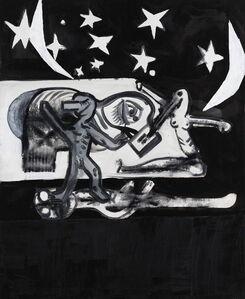 Tobias Pils, 'Night (two moons)', 2018