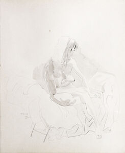 Shen Ling, 'Nude', 1991