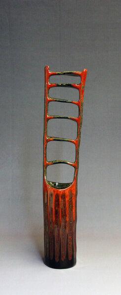 Fujinuma Noboru, 'Lacquered Bamboo Cylinder-Vicarious Joy', 2010
