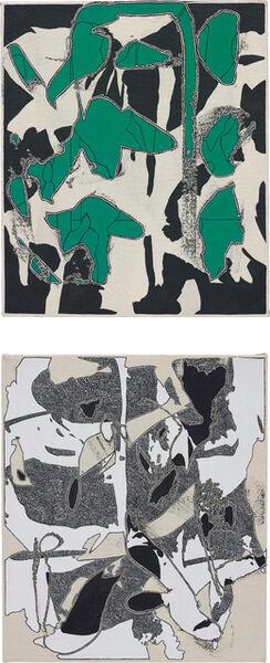 Zak Prekop, '2 works: (i) Reversal with Green; (ii) Unmeasured Pattern', 2014