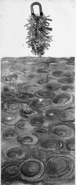Qiu Zhijie, 'Jingwei Filling the Ocean: Each Eddy Has a Key to It 精卫填海:每一个漩涡都有一把钥匙', 2008