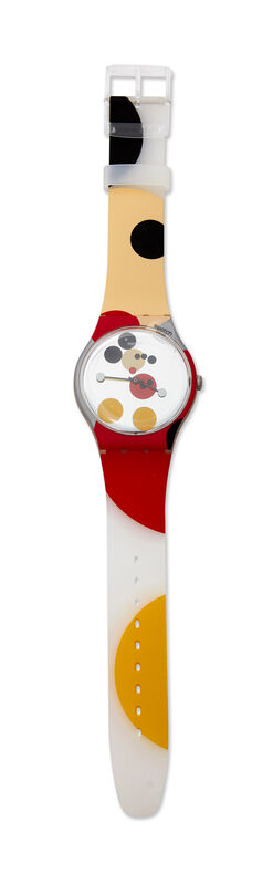 Damien Hirst, 'Swatch Mirror Spot Mickey [SUOZ290S]', Fashion Design and Wearable Art, Unisex Swatch watch in plastic, Roseberys