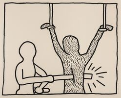 Keith Haring, 'The Blueprint Drawings (see Littmann p.178)', 1990