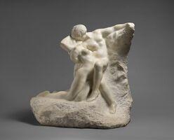 Auguste Rodin, 'Eternal Spring,', Modeled ca. 1881-carved 1907