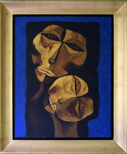 Oswaldo Guayasamín, 'Madre y Niño', 1987