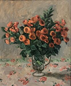 Kelly Carmody, 'Orange Roses', 2020