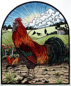Margie Crisp, 'El Gallo Pintado', 2004