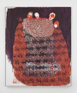 Portia Zvavahera, 'This is where I travelled [4]', 2020