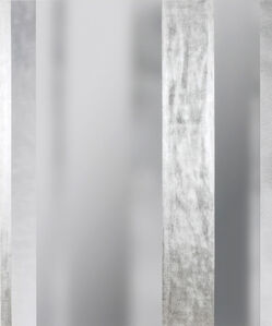 Bing Wright, 'Silver/Surface 3 Planes of Silver 017', 2017