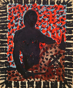 "A.R. Penck, '""TM Mike Hammer""', 1974"