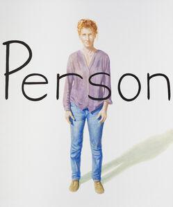 Bernard Ammerer, 'Person 1', 2019