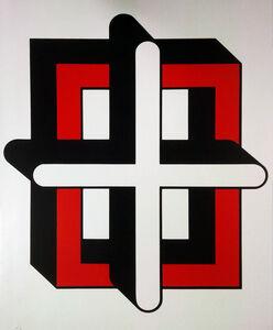 Bak Imre, 'Square-cross ', 1980