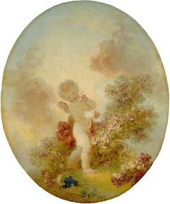 Jean-Honoré Fragonard, 'Love the Sentinel', ca. 1773/1776