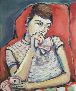 Kate McCrickard, 'Card Player (Vanentin)', 2019