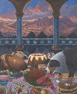 Anne Coe, 'Gluttony: 7 Deadly Sins', 1991