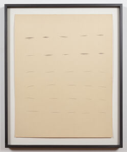 "Ree Morton, 'Untitled (""Line"" Drawing)', 1968-1970"