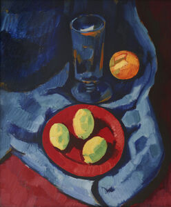 Marsden Hartley, 'Still Life with Lemons (Fruit and Tumbler)', 1928