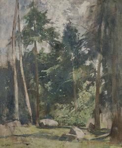 Soren Emil Carlsen, 'Forest Clearing ', ca. 1931