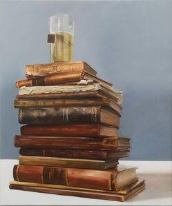 Alessandro Marziano, 'Vecchi libri', 2018